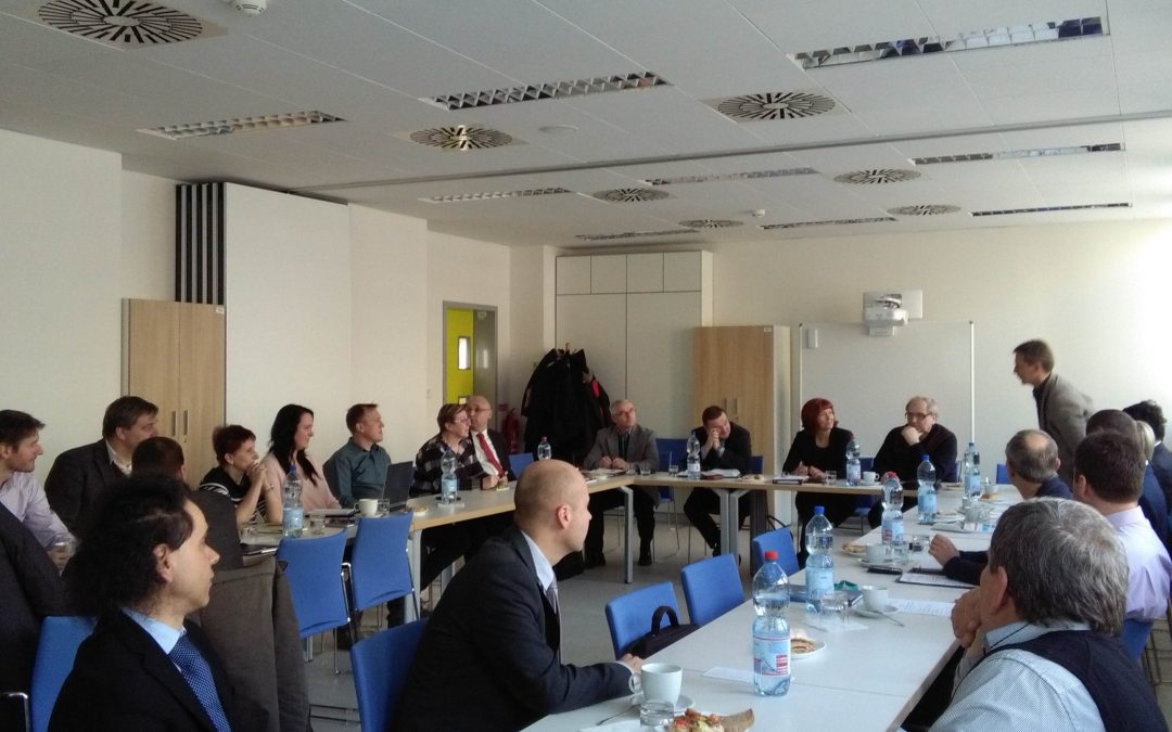 Jednání Odborné pracovní skupiny pro chemický průmysl ÚK