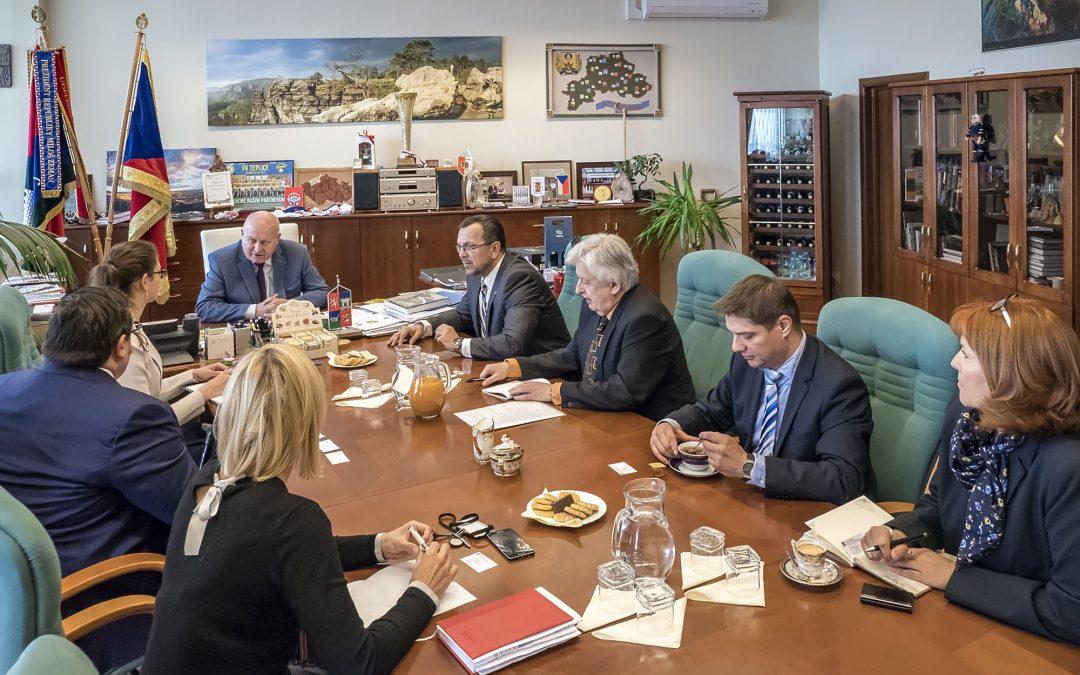 Jednání o možnostech regionální spolupráce Ústeckého kraje s Katalánskem