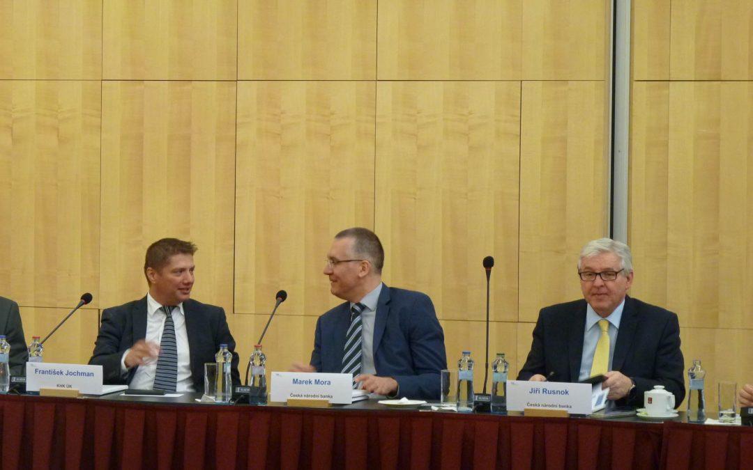 Setkání s guvernérem České národní banky