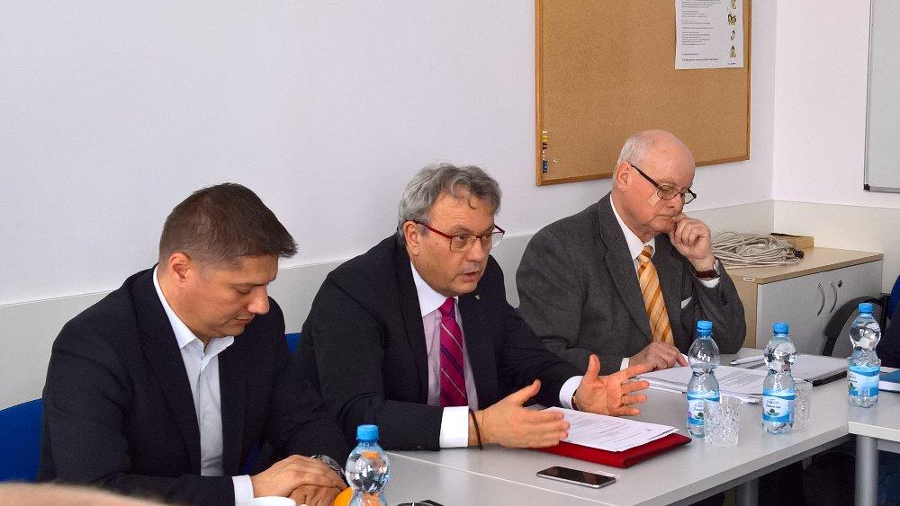 Setkání s prezidentem HK ČR